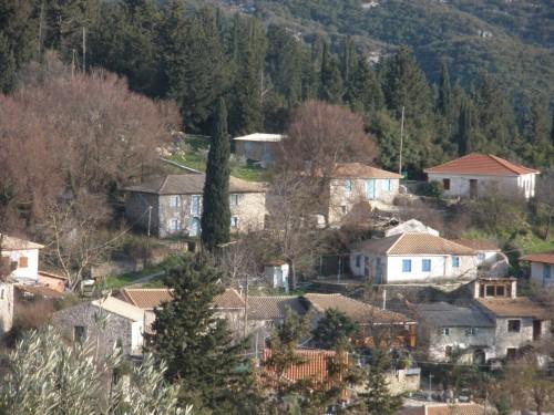 Άποψη του χωριού Κολυβάτα από το Κατούνι