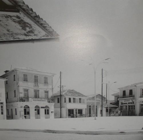Η κεντρική πλατεία στην πόλη της Λευκάδας